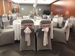 couvre chaise mariage location de housse de chaise sur toulouse