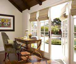 fabulous french window treatments with home office products dark