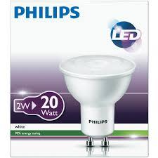 philips led gu10 2 u003d20w ww 10000 h from conrad com