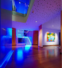 mood lighting ideas living room lighting ideas stair led strip light and ceiling recessed light for