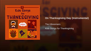 on thanksgiving day instrumental