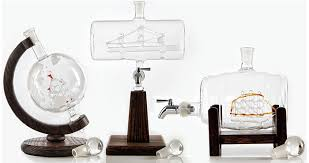ship in a ship in a bottle whiskey decanter