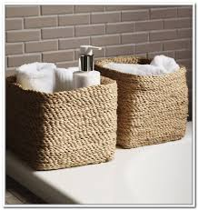 Bathroom Wall Baskets Bathroom Wall Storage Baskets Home Design Ideas