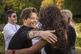 louis tomlinson on u0027x factor u0027 photos 1d singer interacts with