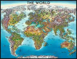 Actual World Map by World Map Puzzles 2d Puzzles Products Ca En