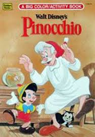 pinocchio story paint book disney coloring u0026 activity books