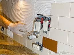 install tile backsplash kitchen innovative kitchen tile installation how to install a glass tile