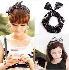 korean headband korean baby girl hippie headbands for women rabbit ears headband