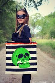 halloween trick or treat bags to make stenciled trick or treat tote bag a and a glue gun