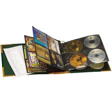 binder photo album leather cd dvd storage amadeus binder album organiser