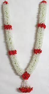 flower garland white flower garland with flowers