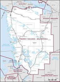 Sound Map Parry Sound U2013muskoka Maps Corner Elections Canada Online