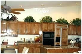 above kitchen cabinets ideas kitchen decorating ideas above cabinets decorating above kitchen