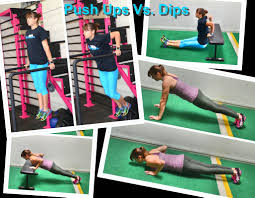 the push up vs the dip redefining strength