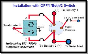 marine battery switch readingrat net at boat wiring diagram