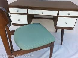 spray paint updates vintage desk my repurposed life
