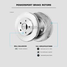 2006 bmw 325i brakes front powersport replacement brake rotors and ceramic pads 2006