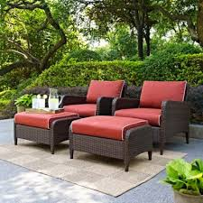 Patio Chairs With Ottoman Buy Outdoor Patio Furniture Sets From Bed Bath U0026 Beyond