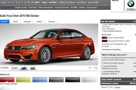 bmw usa accessories bmw m3 and m4 live configurator now on bmwusa com
