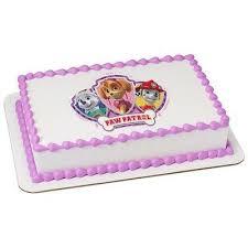 paw patrol skye everest mars licensed edible cake topper 8430