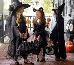 Girls Black Cat Halloween Costume Black Witch Costume Pottery Barn Kids