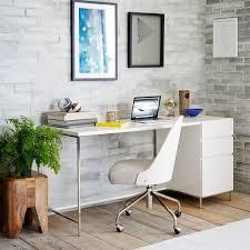 lacquer storage desk set box file west elm