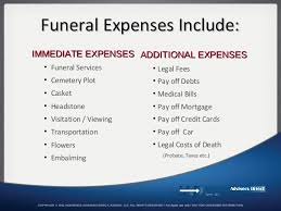 funeral expenses expense