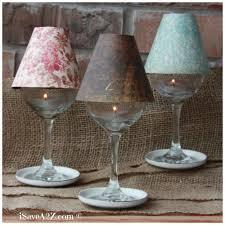 Lamp Shades Diy Wine Glass Lamp Shade Diy Project Isavea2z Com