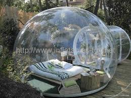 Outdoor Inflatables Transparent Outdoor Tree Outdoor Cing