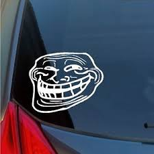 Meme Stickers For Facebook - you mad bro meme face troll vinyl sticker decal internet facebook