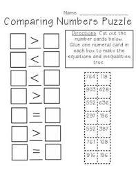 all worksheets comparing 3 digit numbers worksheets printable