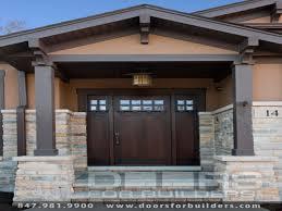 prairie style exterior doors craftsman style house plans adam