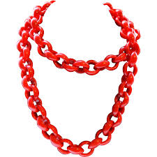 red chain necklace images 47 plastic link chain 1 meter colored plastic chain links 40x42mm jpg