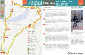 Back Bay Boston Map by Like Vanilla And Fudge U2014 Bikabout