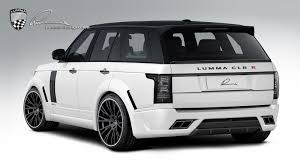 land rover back lumma news range rover transforms to a track star