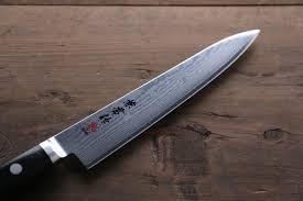 kanetsune vg10 33 layer damascus petty utility japanese chef knife