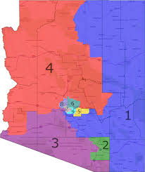 County Map Of Arizona by How Gerrymandering Cost Democrats The House In 2012 An