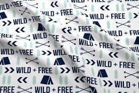 Best Sheet Fabric Wild And Free Kids Camping Crib Sheet Cute Design Best Baby