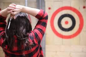 Seeking Bullseye Kicking Axe And Taking Names An Axe You D Like To Grind