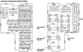 2004 ford explorer fuse diagram 2004 ford explorer interior fuse