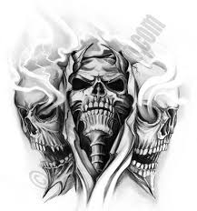 15 best ghost flame skull tattoo designs images on pinterest