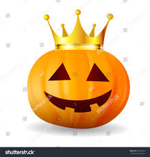 icon halloween halloween pumpkin crown icon stock vector 662218246 shutterstock