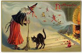 under their spell the aas collection of halloween postcards