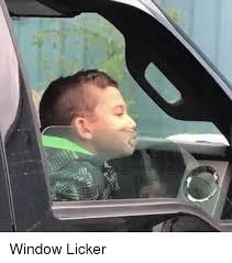 Window Licker Meme - 25 best memes about window licker window licker memes