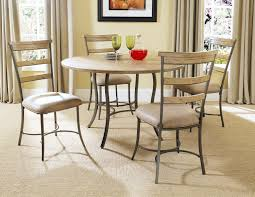 wood and metal round dining table hillsdale charleston wood and metal dining table 4670dtb