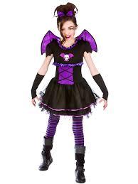 Scary Kids Halloween Costumes Halloween Girls Fancy Dress Horror Ballerina Bat Scary Kids