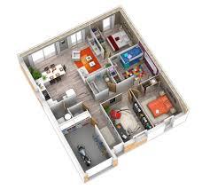 plain pied 4 chambres plan interieur maison plain pied 4 chambres frais plein of