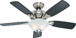 flush mount brushed nickel ceiling fan 44 inch ceiling fans socielle co