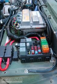 hummer jeep inside hummer h1 duramax diesel engine diesel power magazine