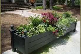 Balcony Planter Box by 23 Garden Planter Box Ideas Patio Garden Planter Box Plans Ideas